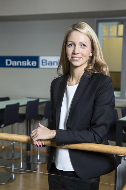 EKSPERTEN: Maria Setsaas er forbrukerøkonom og ansvarlig for sosiale medier i Danske Bank