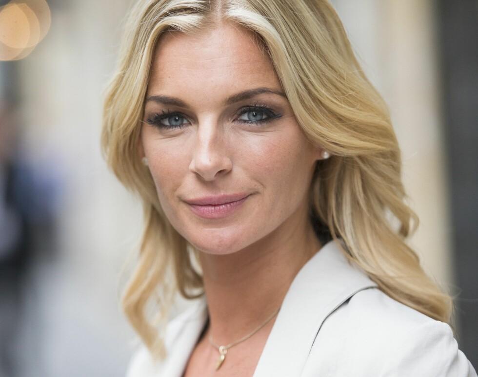SMELLVAKKER: Det er ingen tvil om at Kathrine Sørland har vært heldig med utseende – men 35-åringen er mye mer enn et pent ansikt. Foto: Frode Hansen / VG