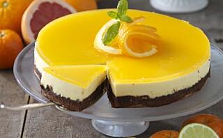 #Koselørdag: Appelsinmoussekake