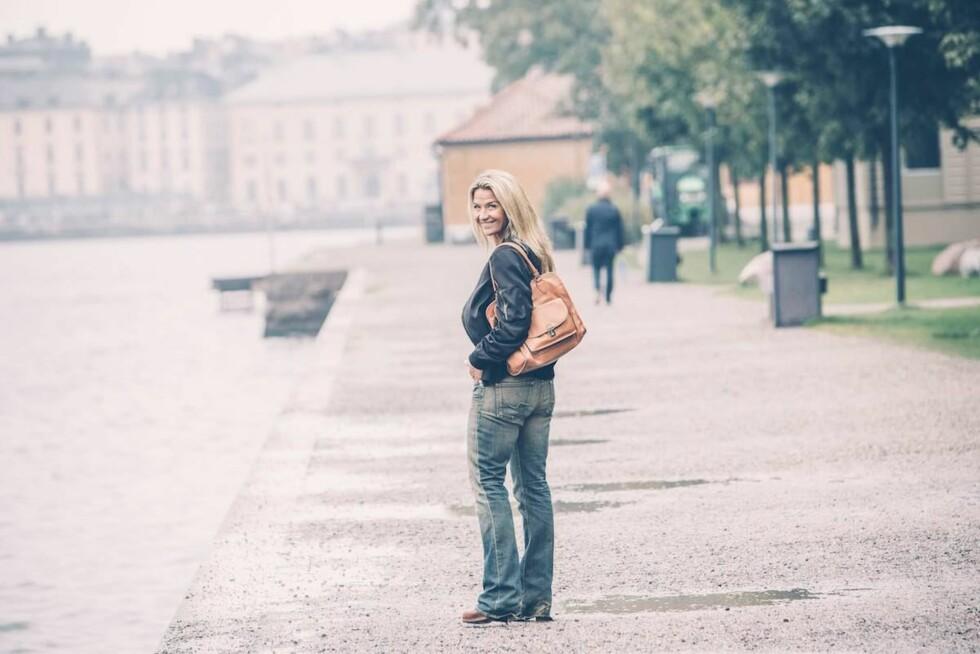 LIVET ER PÅ PLASS: - Jeg trives der jeg er, den følelsen er herlig. Jeg kjenner en enorm ro. Foto: Rickard L. Eriksson