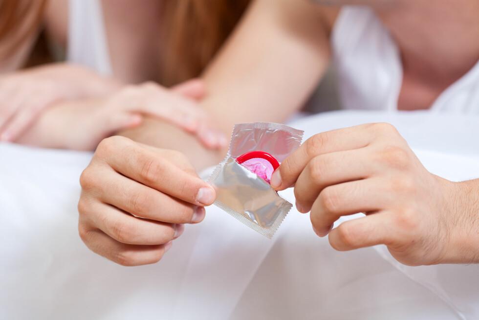 <strong>BESKYTTELSE:</strong> Akkurat som med andre kjønnssykdommer smitter denne infeksjonen ved seksuell kontakt, og kondom vil derfor kunne beskytte mot smitte. Foto: Shutterstock / Photographee.eu