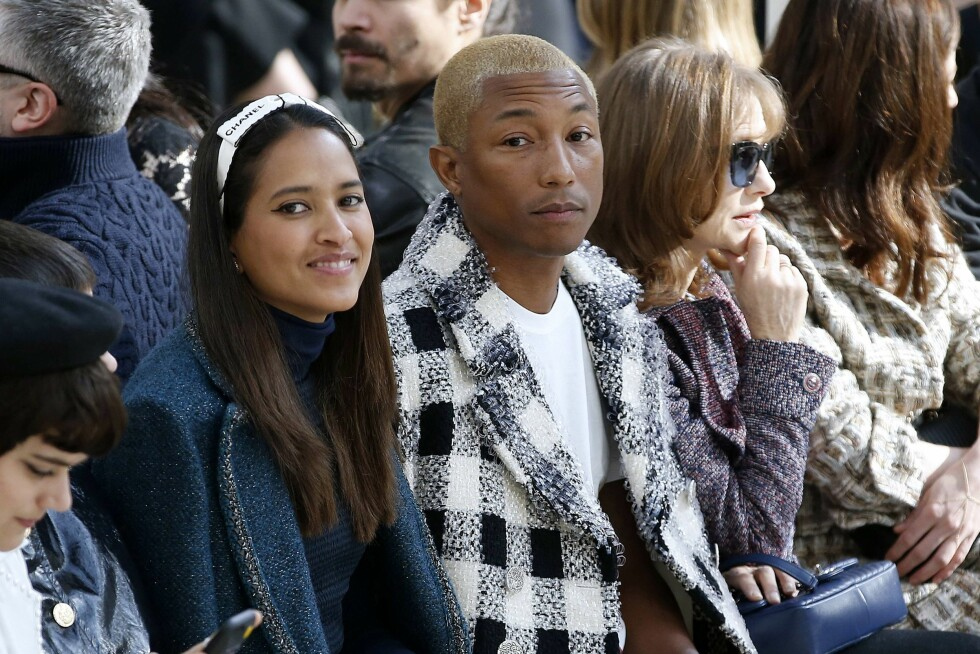 CHANEL: Pharell Williams. Foto: Afp