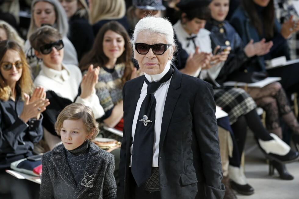 CHANEL: Karl Lagerfeld. Foto: Afp