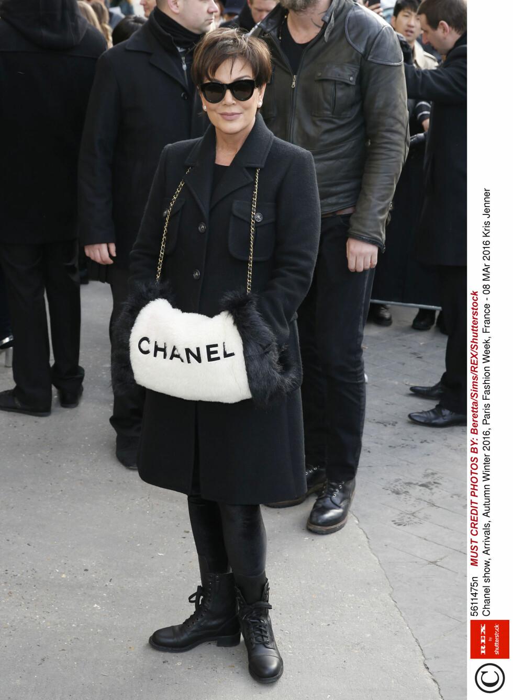 CHANEL: Kris Jenner. Foto: Rex Features