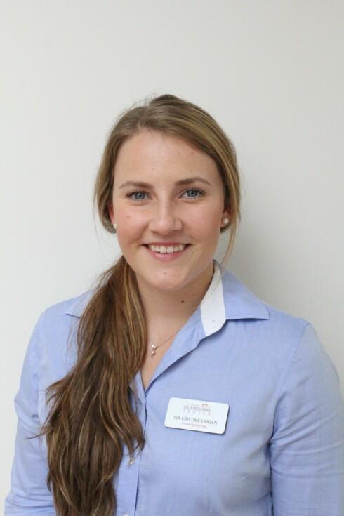 ENKELT: Pia Kristine Larsen mener at svaret på maksimal fettforbrenning er enkelt. Spis sunt og tren intensivt.
