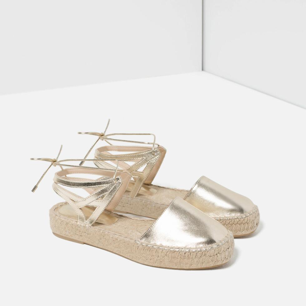 Sandaler fra Zara, kr 399. Foto: Produsenten