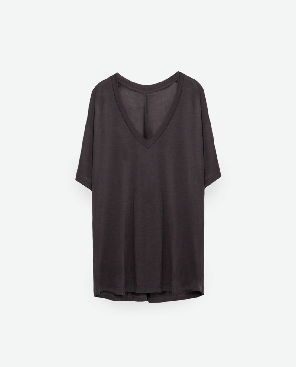 T-skjorte fra Zara, kr 139. Foto: Produsenten