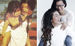 Da moren døde, ble søstrene Kimhye og Anniken endelig forsonet