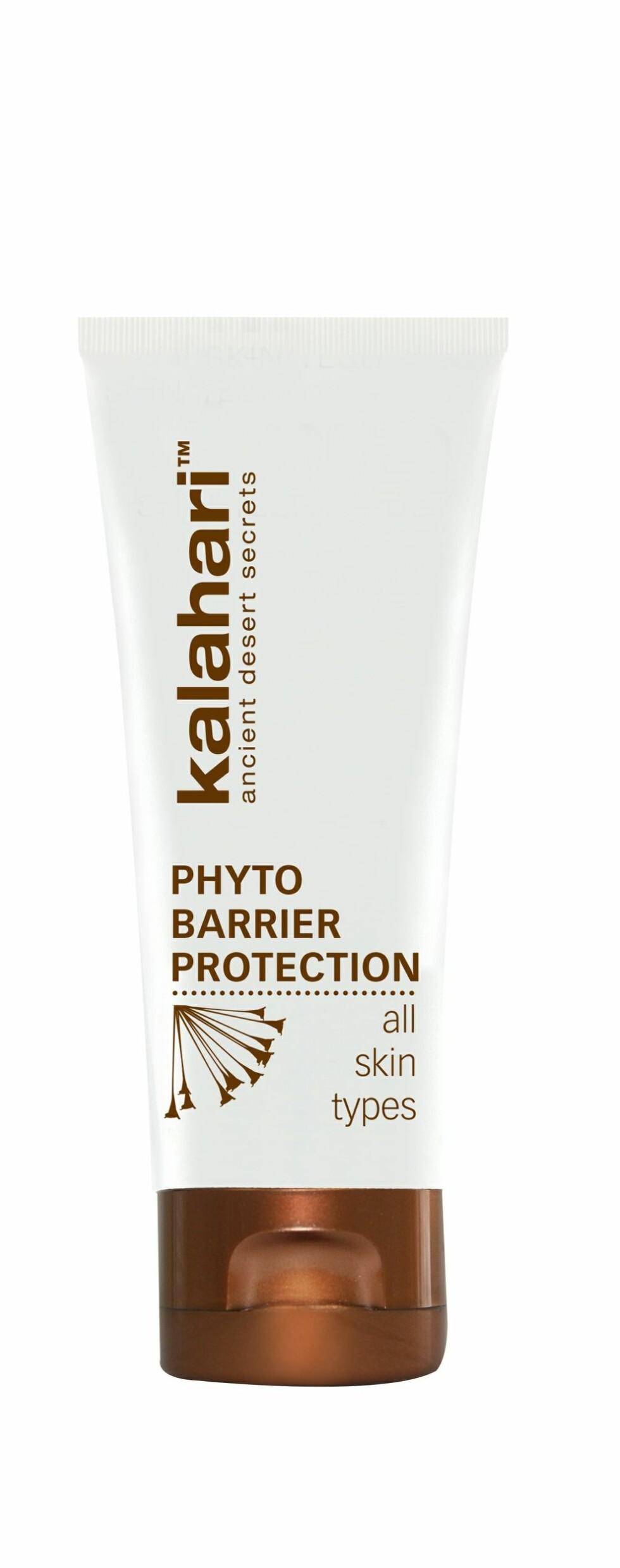 Klimakrem med SPF og pleiende ingredienser fra Kalahariørkenen (kr 410, Kalahari Phyto Barrier Protection). Foto: Produsenten