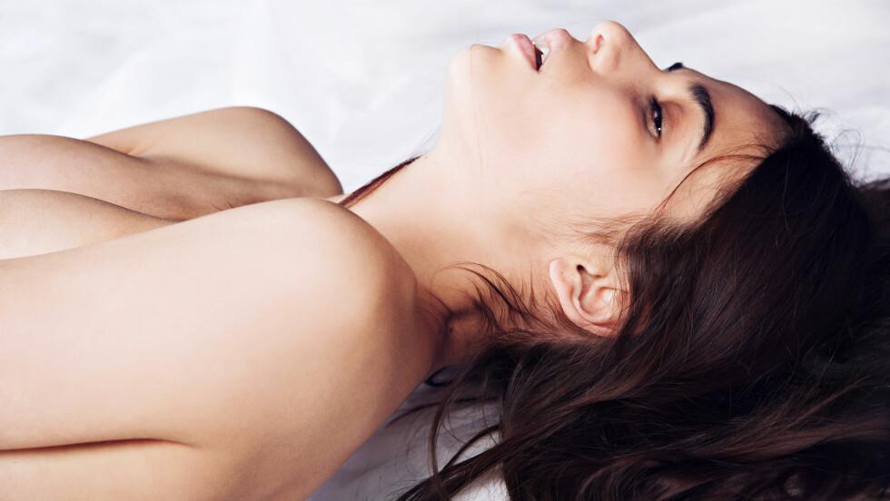 ORGASME: I ukens sexspalte gir Cecilie Kjensli deg tips til hvordan du kan gi deg selv den ultimate orgasme.  Foto: Shutterstock / Aleynikov Pavel