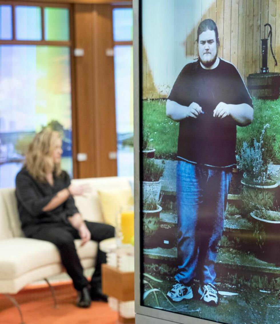 ENORM FORANDRING: Rick Snowden gikk ned over 80 kilo for å kunne satse på en karriere som musiker. Foto: Scanpix