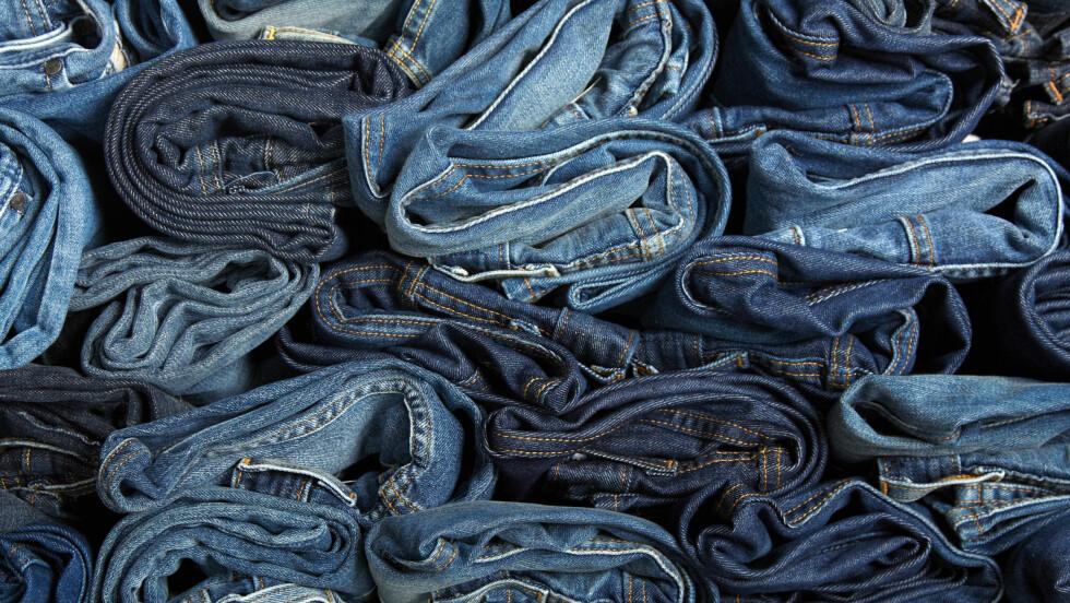 JEANS: Sliter du med å finne riktig jeans til din passform? Vi har samlet sammen de beste rådene fra to eksperter! Foto: Shutterstock / macka