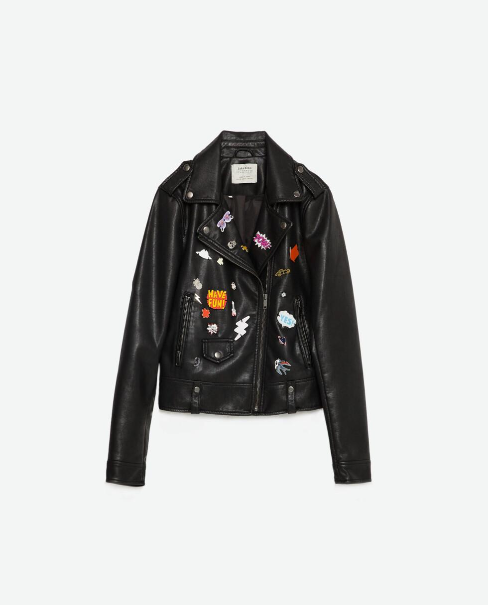 Jakke fra Zara, kr 799. Foto: Produsenten
