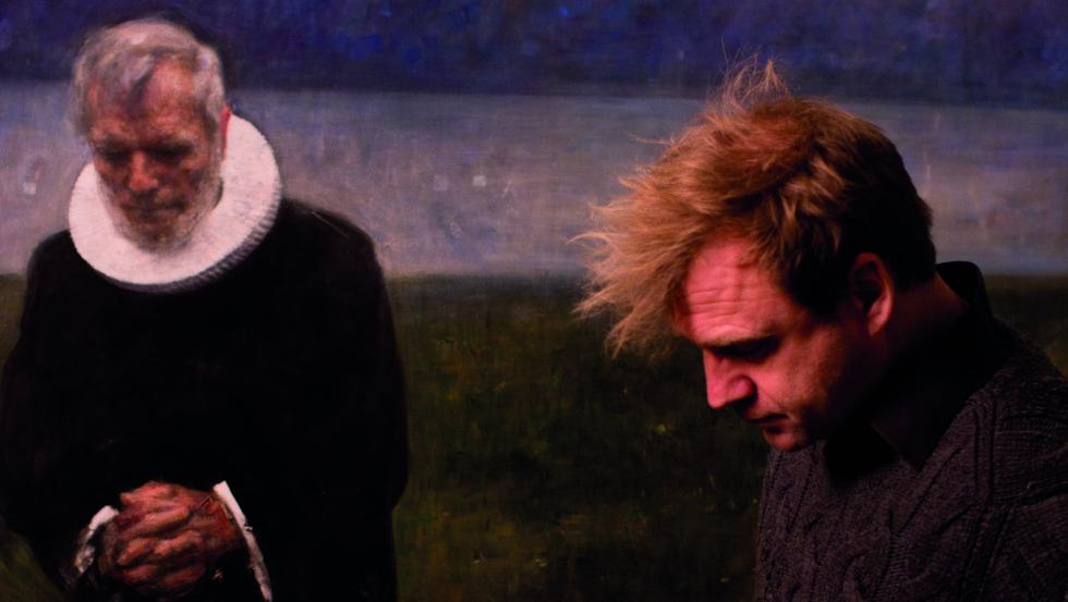 KONTROVERSIELL: Vebjørn Sand har portrettert prest Børre Knudsen, som var abortmotstander.  Foto: Gudmund Sand