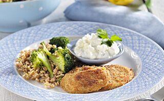 #Kjøttfrimandag: Ovnsstekt sellerirotbiff med fetaostsaus
