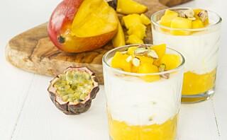 #Koselørdag: Søt frukt og syrlig yoghurt i skjønn forening