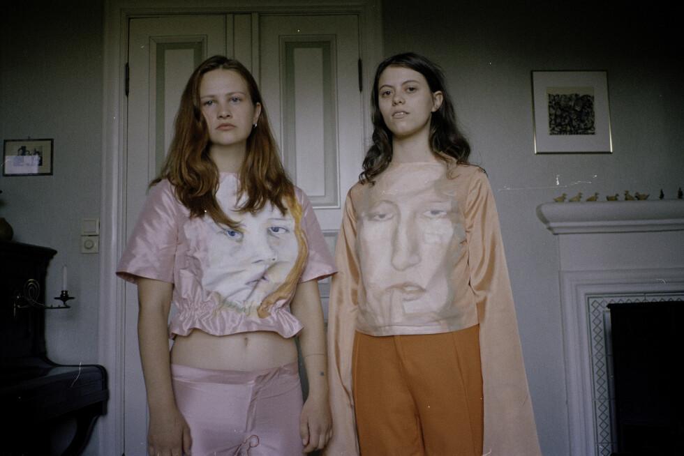 NY KOLLEKSJON: August Vestbø skal presentere en annen kolleksjon enn denne under New York Fashion Week denne uken. Foto: Jakob Landvik