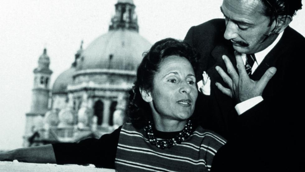 ELSKERE: Salvador Dalí var svært begeistret for Gala, og hun ble hans fast modell i tillegg til å gifte seg med den spanske maleren.  Foto: Scanpix