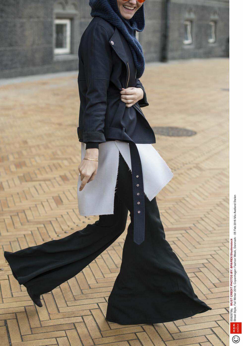 <strong>LAG PÅ LAG:</strong> Den perfekte måten å kle seg både trendy og varm på når det er kaldt.  Foto: Rex Features