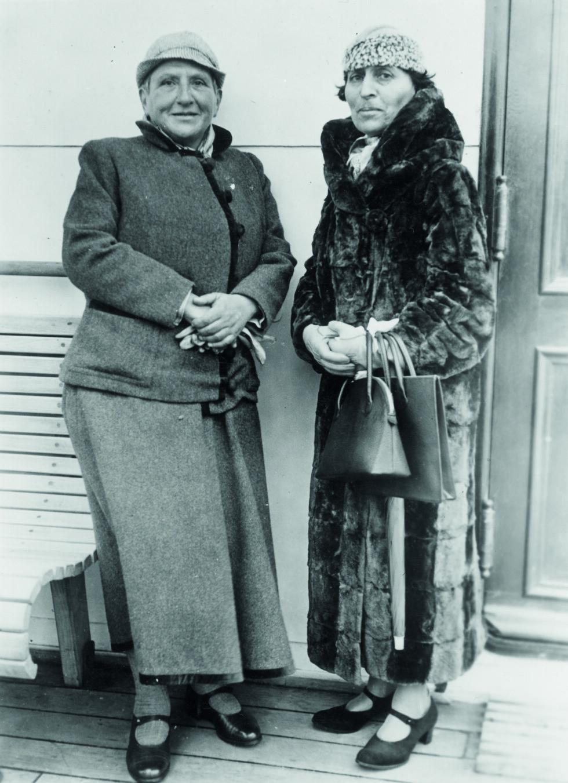 ELSKERE: Gertrude Stein og hennes venninne og elskerinne, Alice B. Toklas. Foto: The Granger Collection
