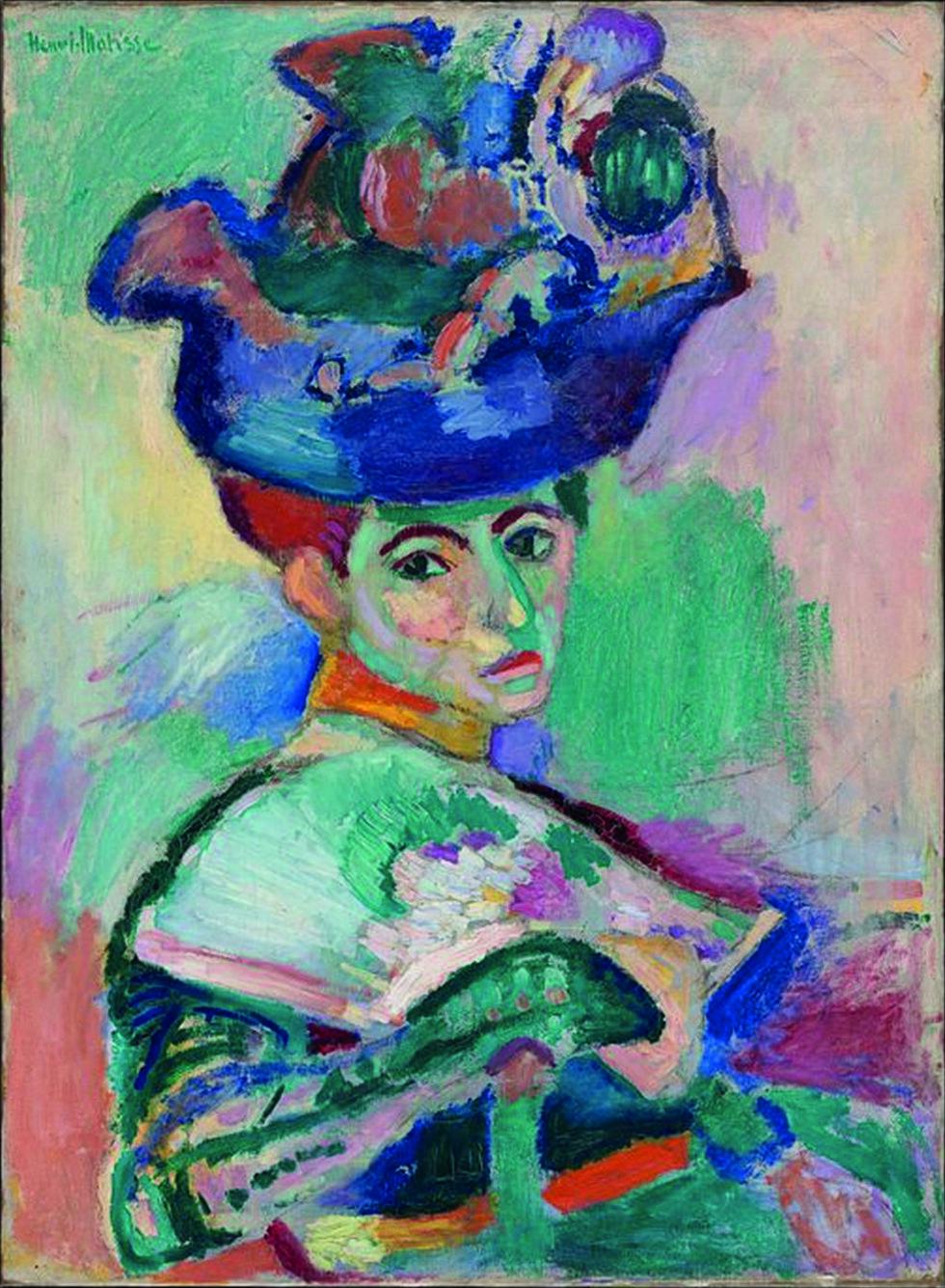"""ANERKJENT VERK: Henri Matisses """"Woman with a Hat"""" var et av flere sentrale verk Gertrude Stein hadde i kunstsamlingen sin."""