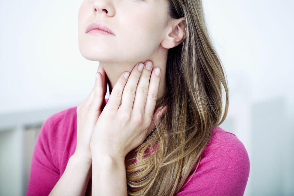 KLØE OG SVIE: Enkelte kjønnssykdmmer kan forårsake symptomer som minner om vanlig forkjølelse.  Foto: Shutterstock / Image Point Fr