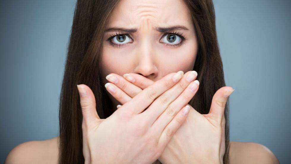 KJØNNSSYKDOM I MUNNEN: Flere kjønnssykdommer kan smitte fra underliv til munn gjennom oralsex.  Foto: Shutterstock / Edyta Pawlowska