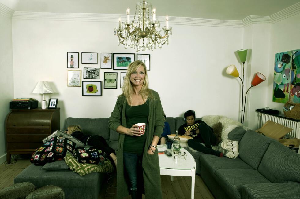 EGENTID: Annenhver uke har Charlotte fire dager for seg selv – det nyter hun.  Foto: Orkideea Safire Blica & PR/All Over Press