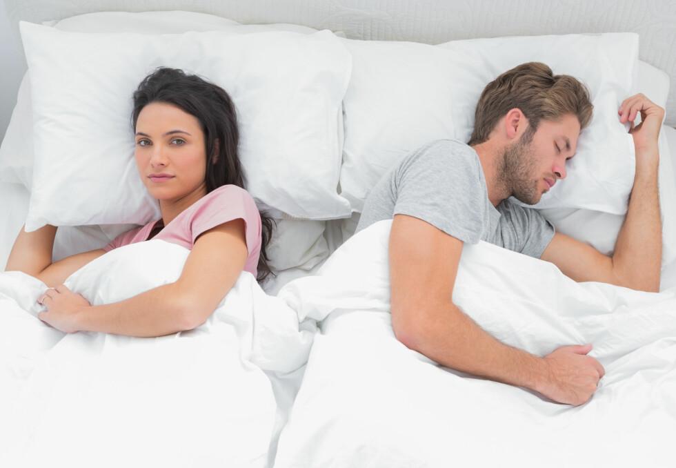 VANSKELIG: Det er ikke alltid like lett, men KK.nos sex-ekspert Peder Kjøs mener det er viktig å snakke om det dersom partneren din sliter med potensen. Foto: Shutterstock