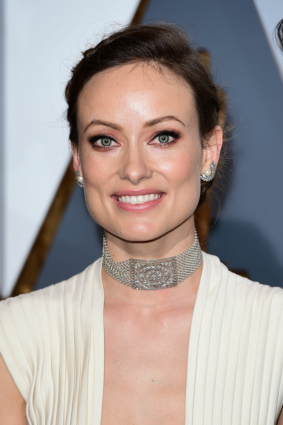 OLIVIA WILDE: Skuespilleren gikk for eyeliner og en naturlig leppe. Foto: Pa Photos