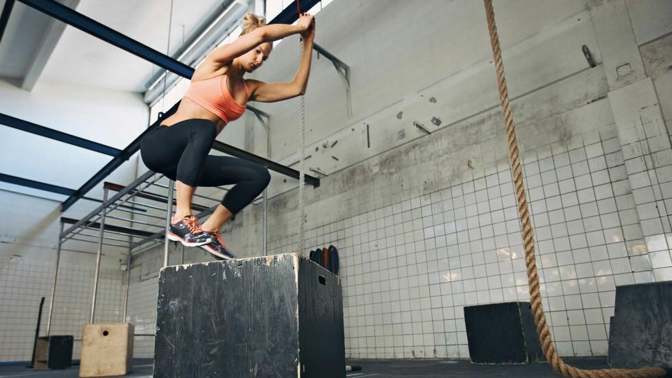 LYST PÅ GOD SPENST? Når du skal trene spenst er det to ting som gjelder: Kort intensiv trening der du gir 100 prosent, og styrke i bena.  Foto: Scanpix