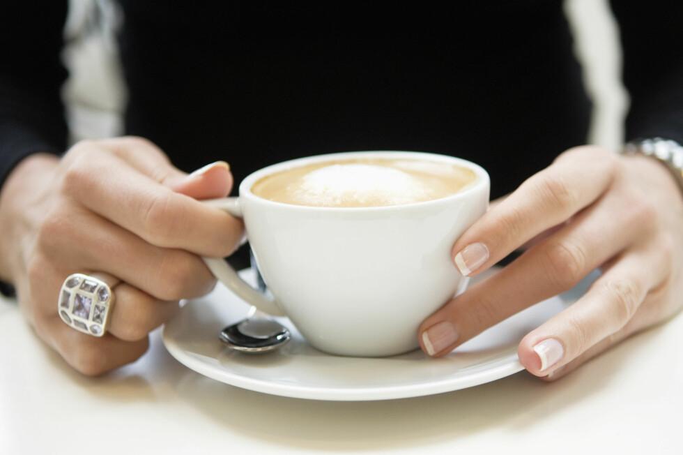 <strong>SUNN EFFEKT:</strong> Drikker du opp til fem kopper filterkaffe om dagen skal det ha en positiv effekt på kroppen.  Foto: Scanpix