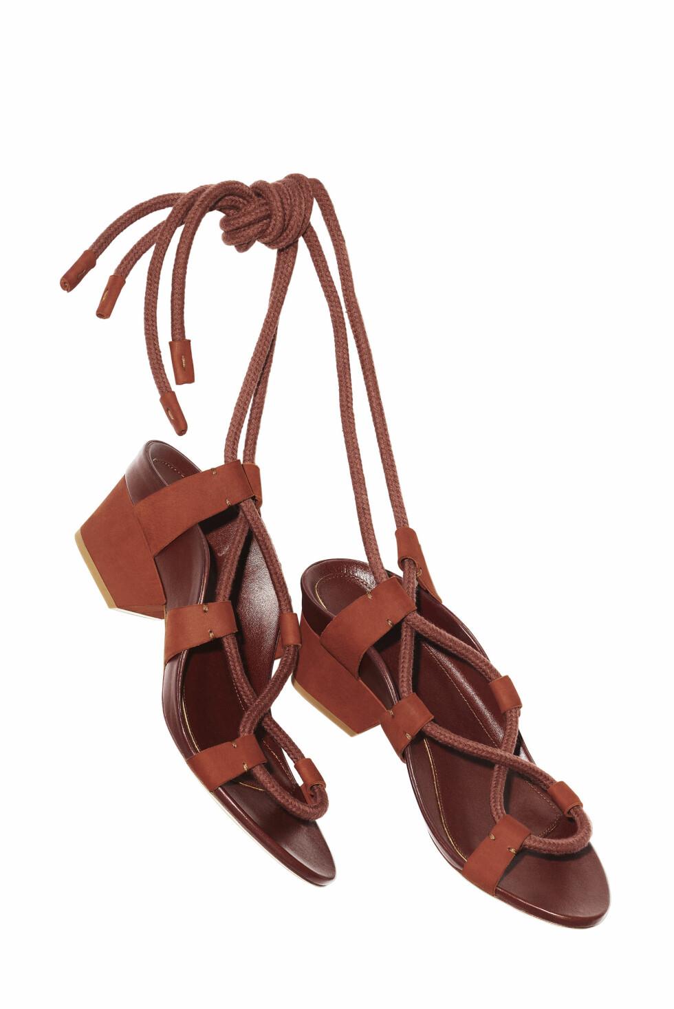 Sandaler - online exclusive, kr 599. Foto: Produsenten