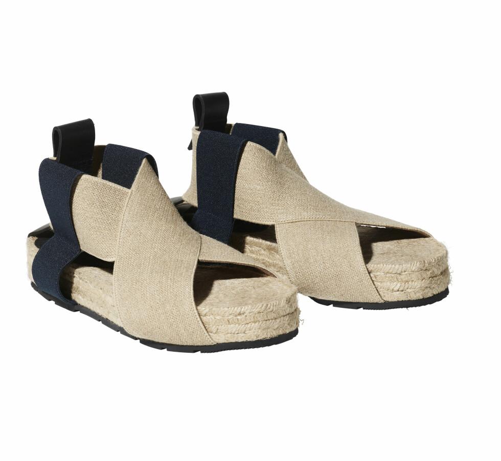 Sandaler, kr 599. Foto: Produsenten