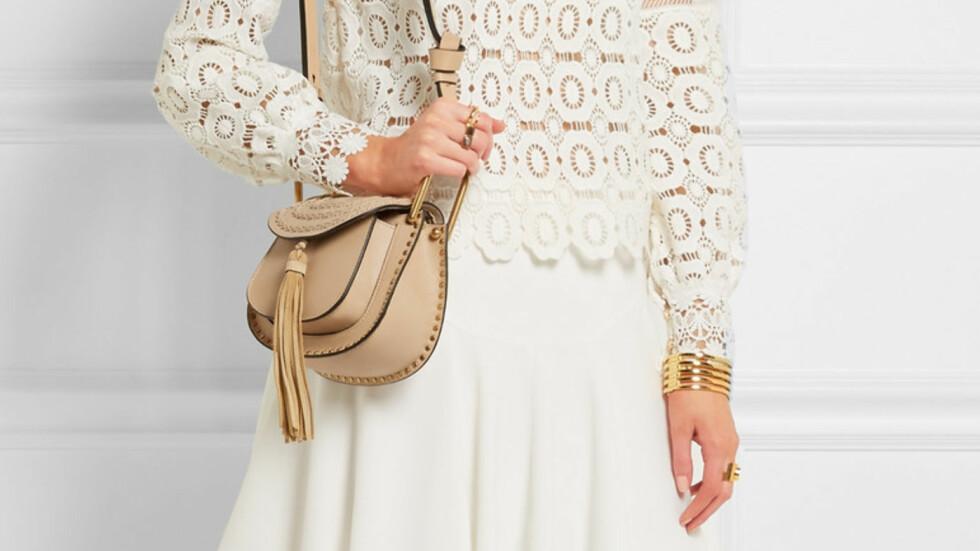CHLOE: Trendvesken fra det franske motehuset har blitt manges favoritt. Men, velger du en veske framfor en hel garderobe? Foto: Net-a-porter.com