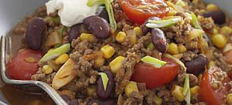 #Etnisk fredag: Chili con carne