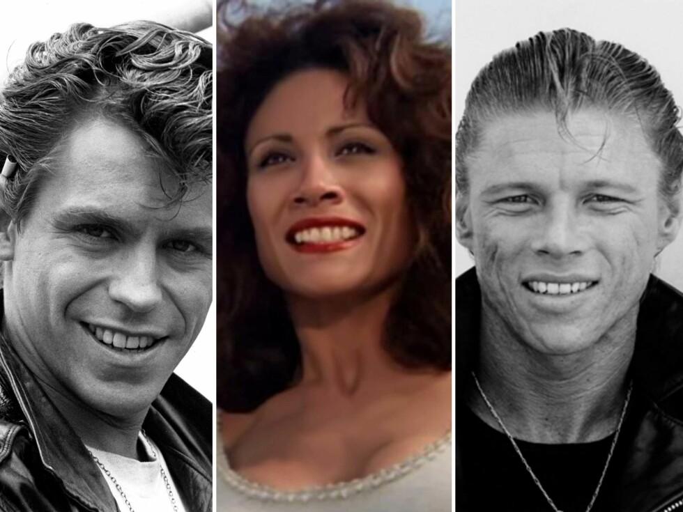 GIKK BORT: Jeff Conaway (Kenickie), Annette Charles (Cha Cha) og Dennis Cleveland Stewart (Leo) døde henholdsvis i 2011 og 1994. Foto: Scanpix