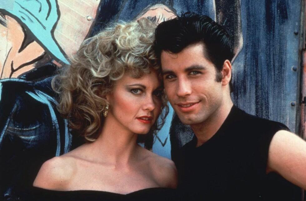 NOSTALGI: Det er nesten førti år siden Grease kom ut – sjekk hvordan blant annet Olivia Newton-John og John Travolta ser ut i dag! Foto: AP