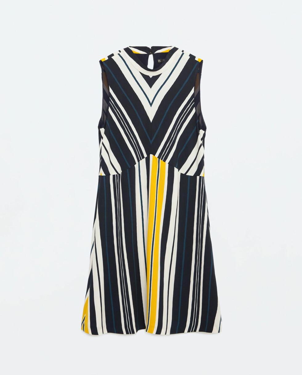 Kjole fra Zara, kr 349. Foto: Produsenten