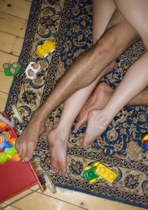 <strong>VÆR IMPULSIV:</strong> Kvinner krever gjerne mer «oppvarming» enn menn, derfor bør forslag om impulsiv sex ofte komme fra henne.  Foto: Bildhuset
