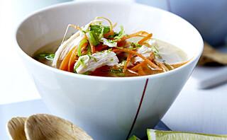 #Etniskfredag: Herlig woksuppe med smak av Asia
