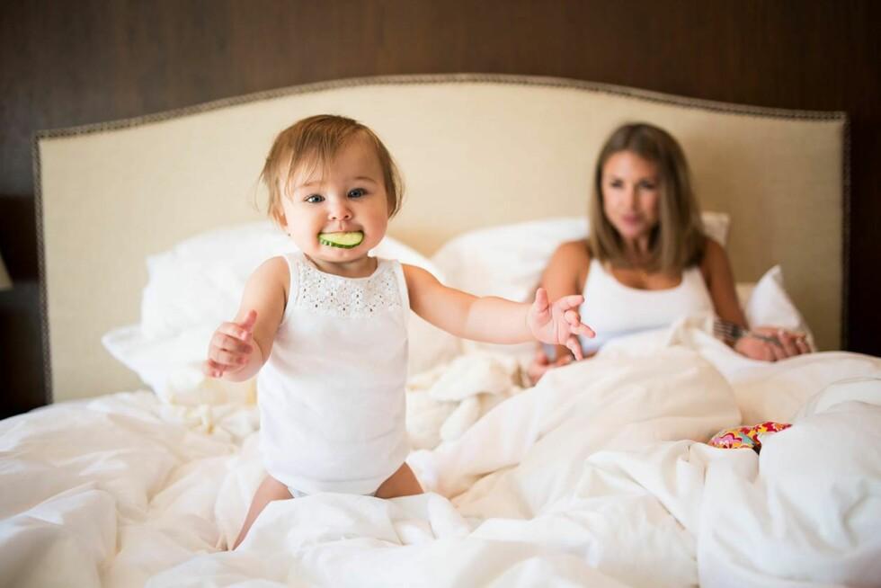 TO ÅR: I april blir lille Billie 2 år gammel.