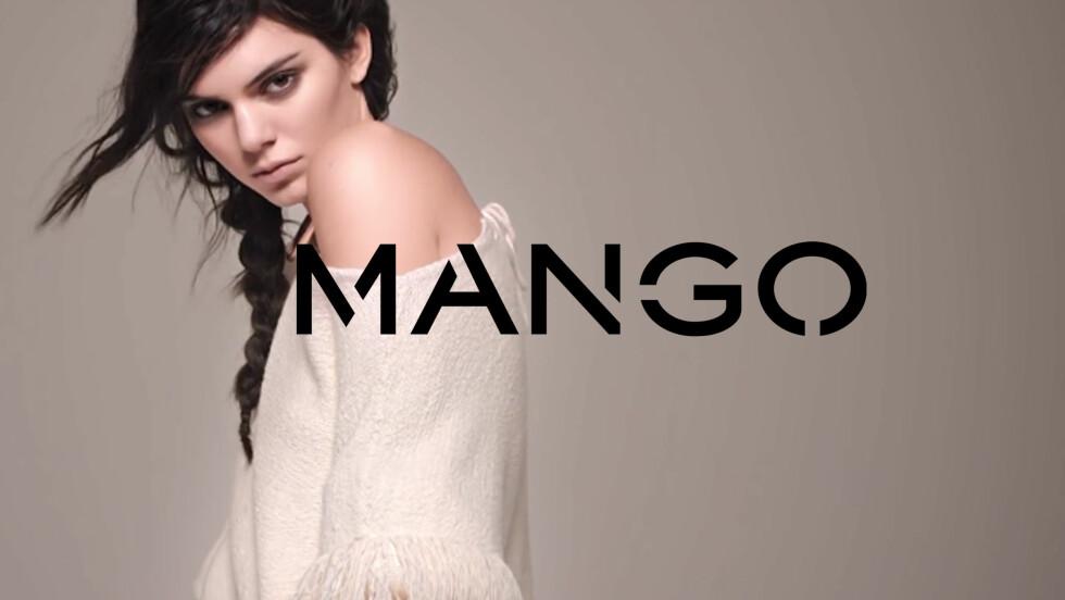 KONTROVERSIELL: Kendall Jenners nyeste kampanje for kleskjeden Mango blir beskyldt for å være rasistisk. Foto: Skjermdump fra YouTube