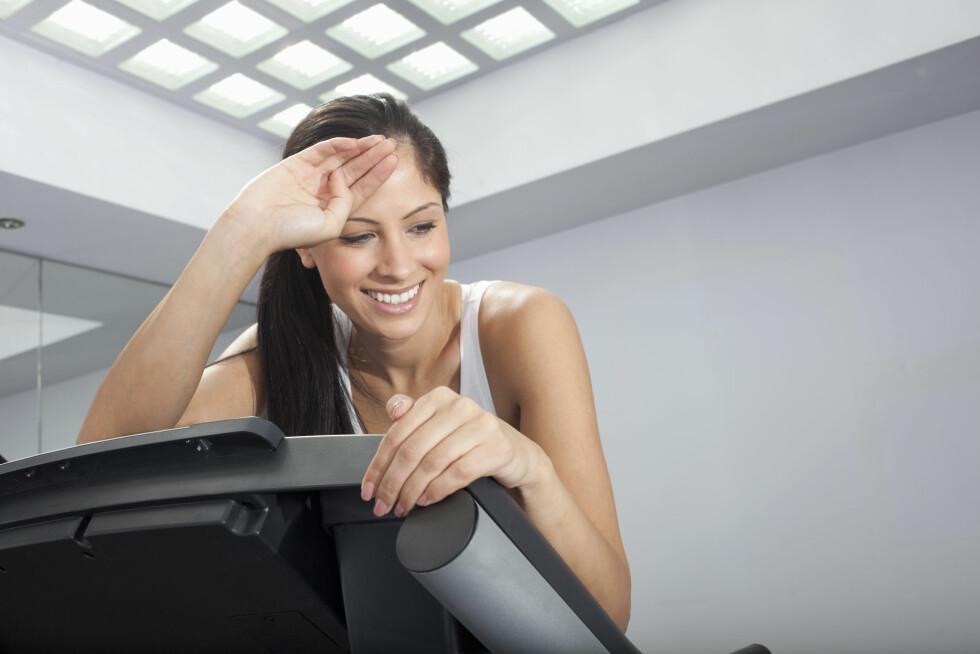 I HODET: Det å faktisk oppnå en orgasme, kan være vanskelig nok i seg selv. Men ifølge legen ligger alt i hodet, noe som kanskje tilsier at man også kan oppleve dette under trening. Foto: © Mark John/cultura/Corbis