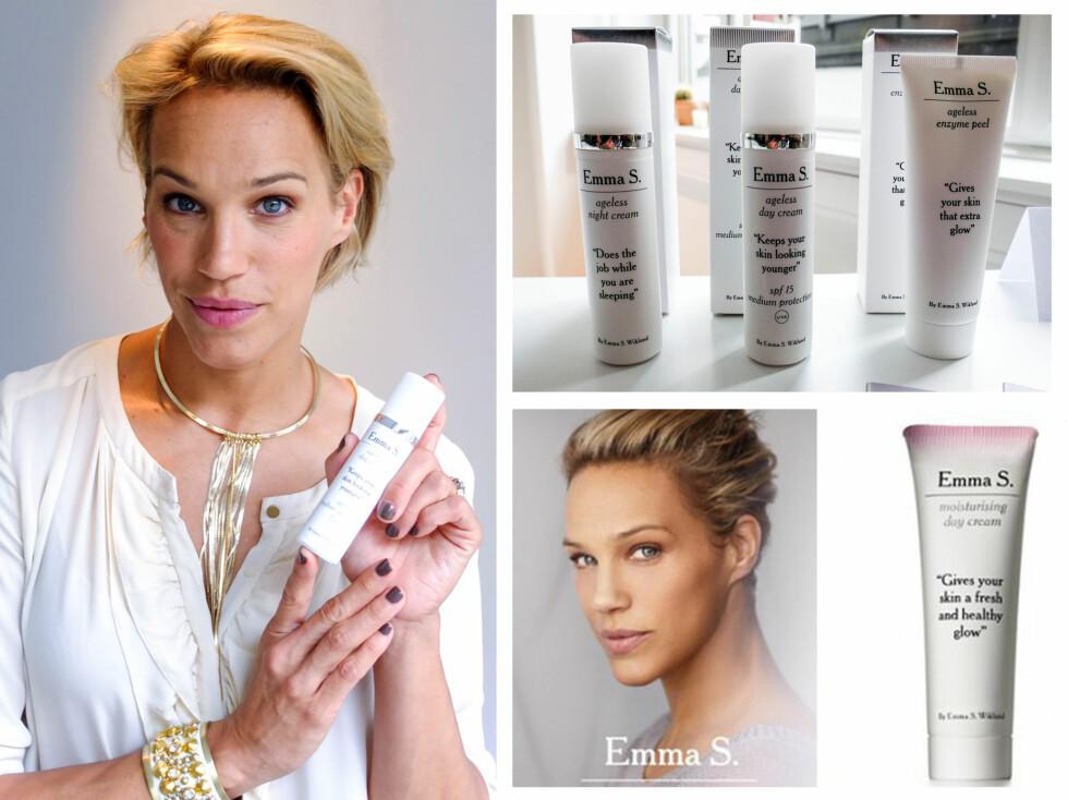 I NORGE: Emma lanserer snart sin hudpleieserie her i Norge. 1. september er syv produkter tilgjengelige i Vita-butikker rundt om i landet.  Foto: Per Ervland/Andreas Von Gegerfelt
