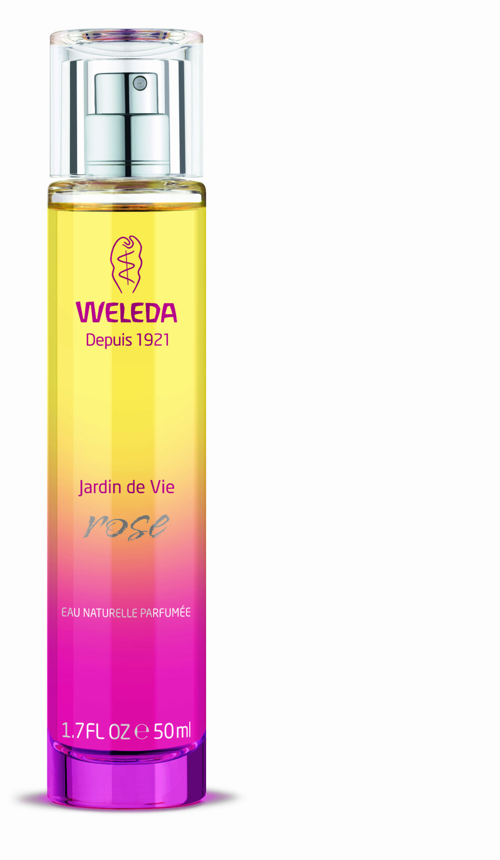 PARFYME: Med essensielle oljer, og egner seg derfor hele kroppen! Kommer i ulike dufter som allerede finnes i Weleda-universet. Deilig å avslutte med etter en nøytal bodylotion (kr 400, Weleda). Foto: Produsenten
