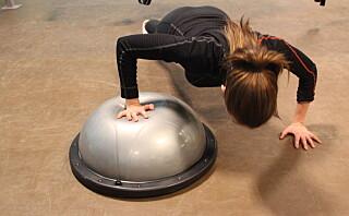 Push ups-variantene som utfordrer balansen