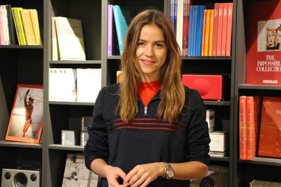 TRINES WARDROBE: Denne kule, danske dama står bak bloggen Trines Wardrobe. Daglig inspirerer hun lesere med kule stylingtips - og nå deler hun dem med dere! Foto: KK.no