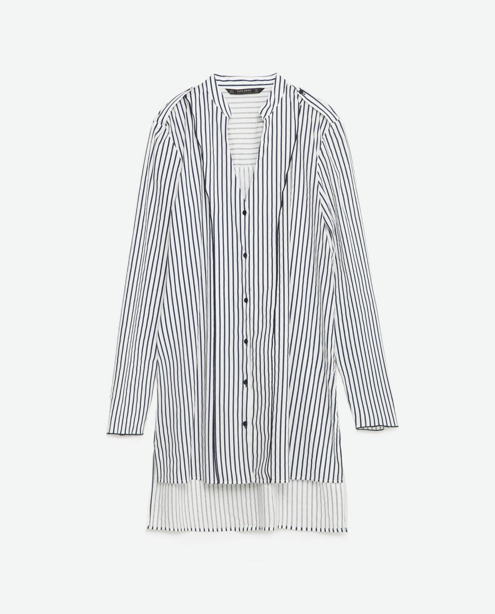 Skjorte fra Zara, kr 299. Foto: Produsenten