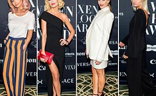 Best kledd på Vixen Blog Awards